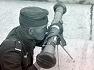 독일군의 소형 관측기기였던 1m짜리 스테레오스코픽 레인지파인더 German optical 1m Stereoscopic Rangefinder WW2