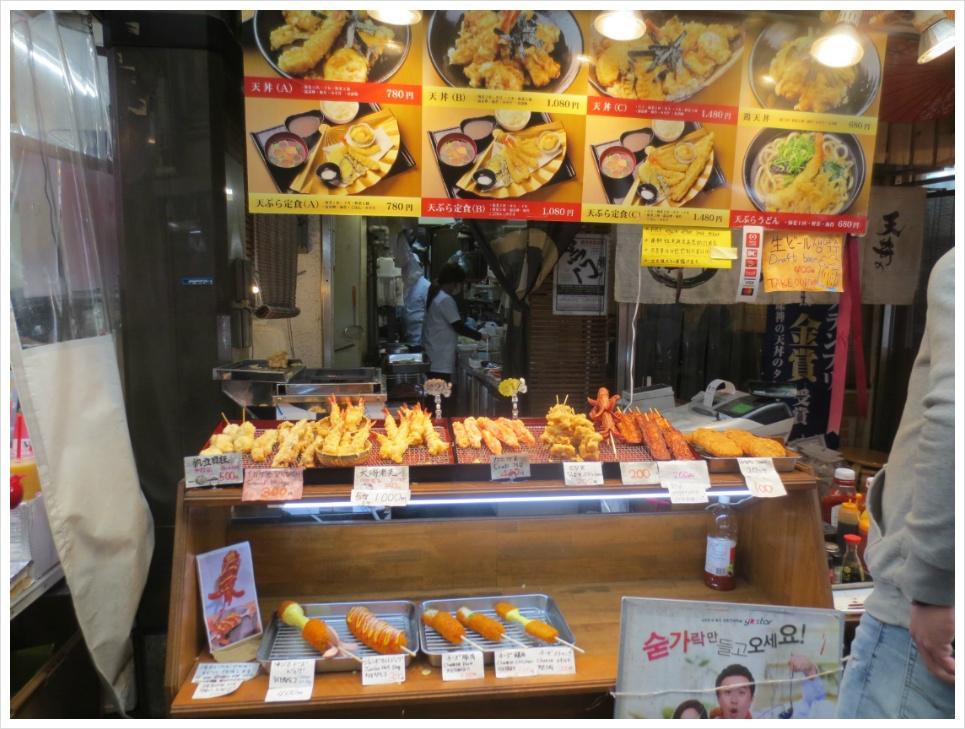 [2019 오사카] 점심 먹으러 찾아간 구로몬시장