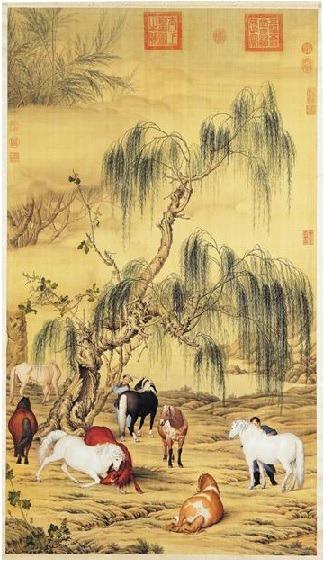낭세녕(郎世寧): 중국에 51년간 머문 이탈리아화가
