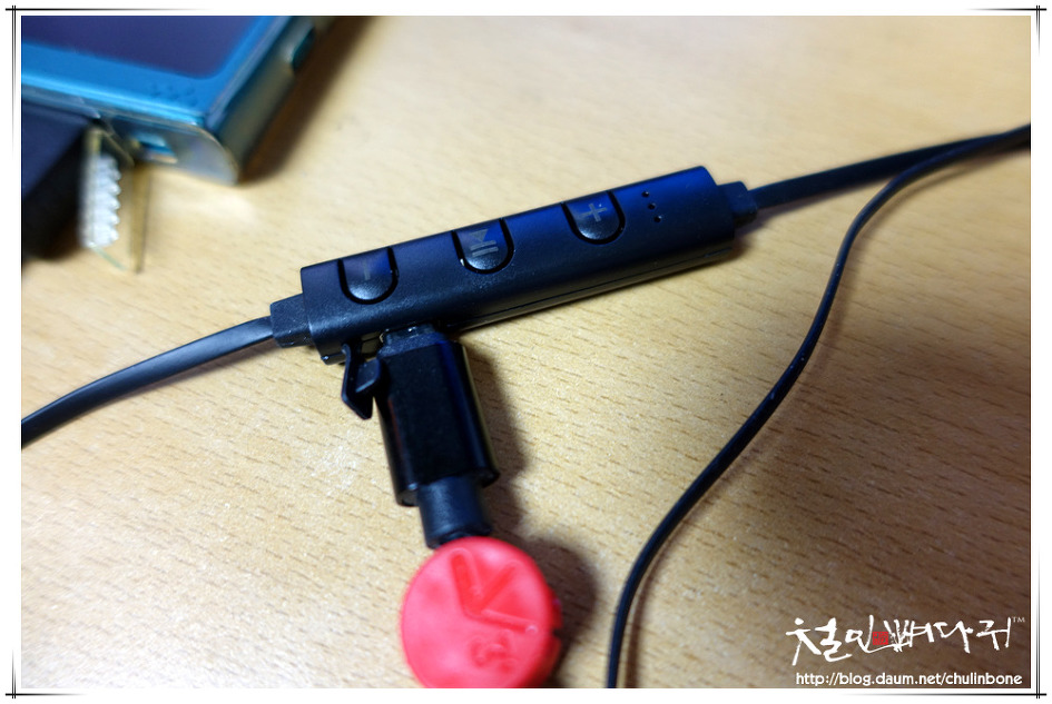 블루투스이어폰(MoreBlue BT05.알리익스프레스)