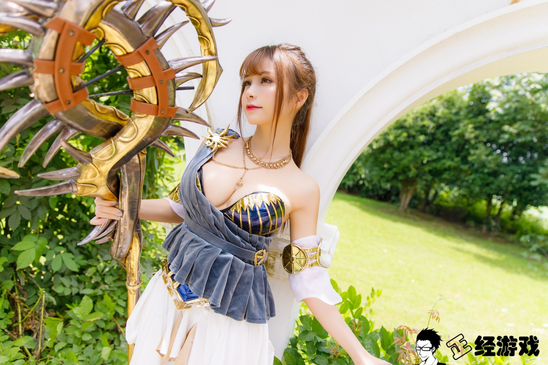 cool cosplay Chinese girl