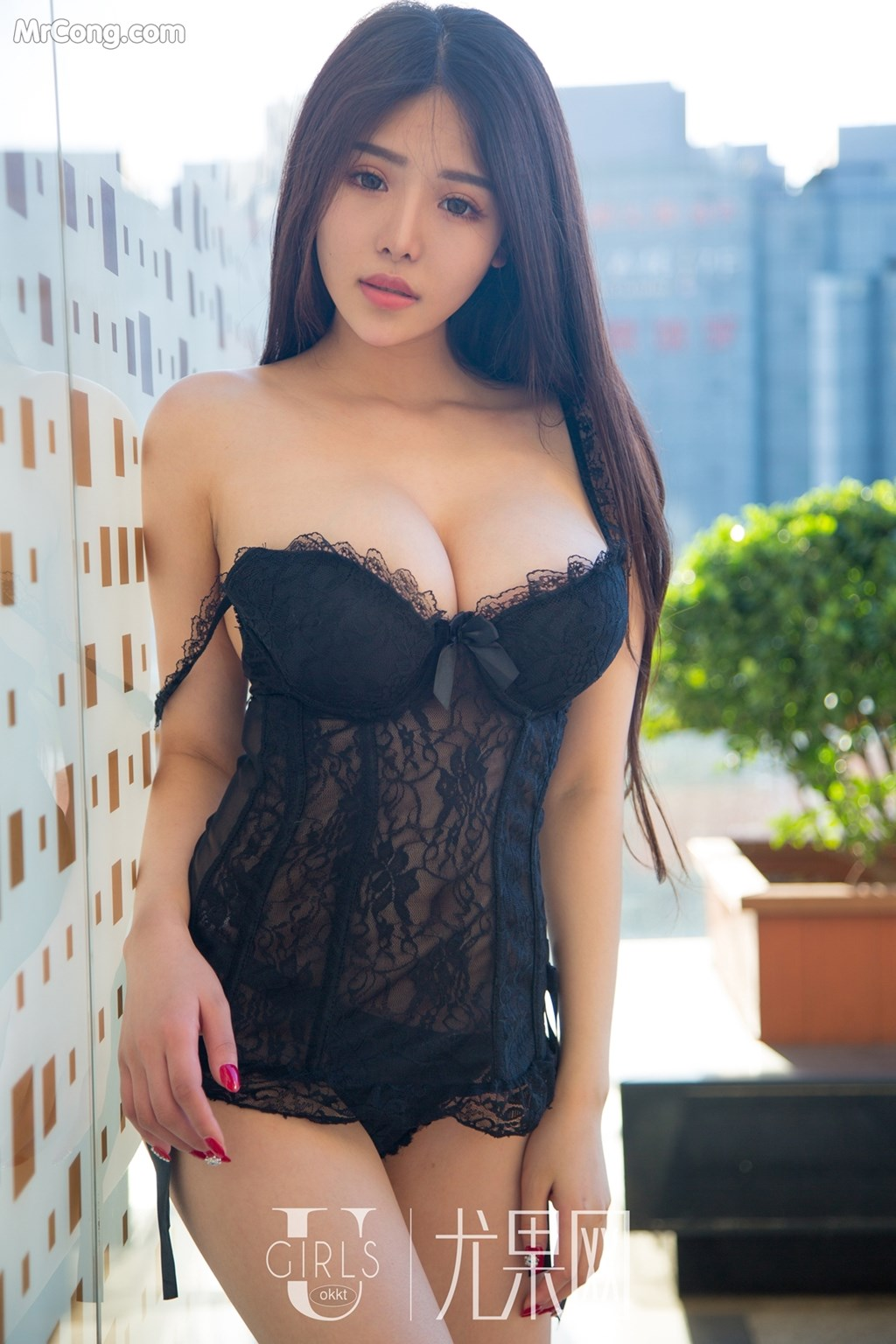 hot & cute Chinese lingerie girl