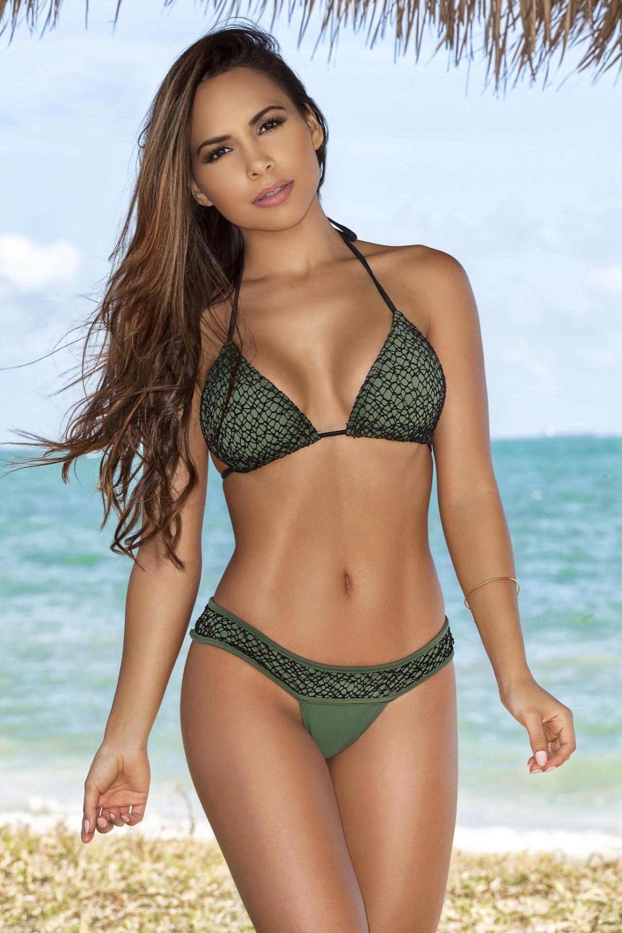cool girl in swim wear
