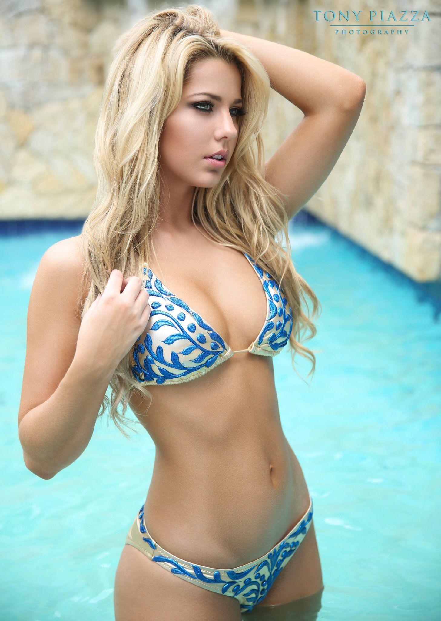 beautiful girl in bikini - Morgan Hollie