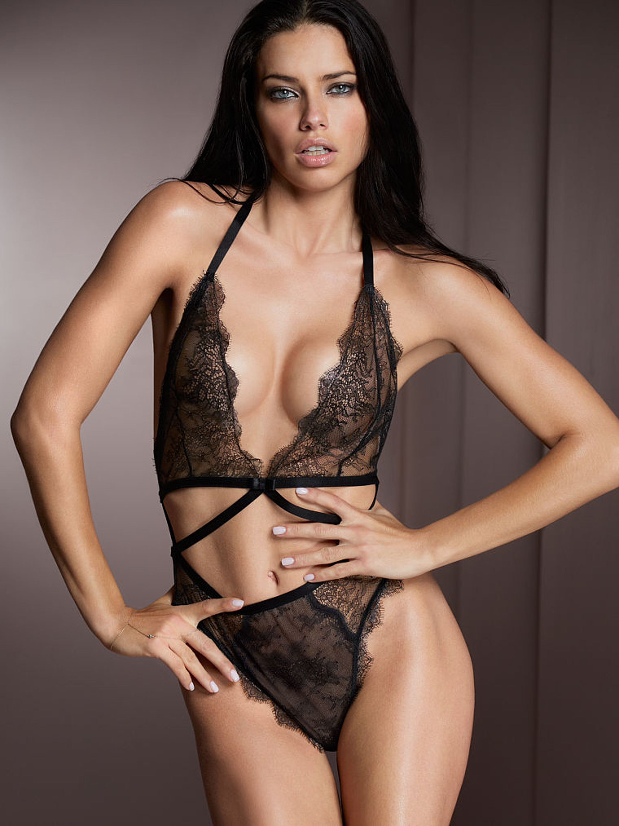 hot model in sexy lingerie - Adriana lima